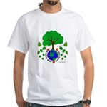 Earth Day Everyday White T-Shirt