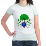 Earth Day Everyday Jr. Ringer T-Shirt