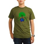 Earth Day Everyday Organic Men's T-Shirt (dark)