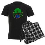 Earth Day Everyday Men's Dark Pajamas
