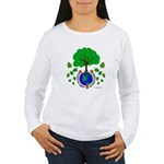 Earth Day Everyday Women's Long Sleeve T-Shirt