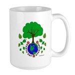 Earth Day Everyday Large Mug