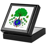 Earth Day Everyday Keepsake Box