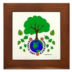 Earth Day Everyday Framed Tile