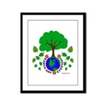 Earth Day Everyday Framed Panel Print
