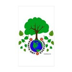 Earth Day Everyday Sticker (Rectangle 50 pk)