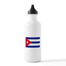Cuban Flag Water Bottle