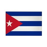Cuban Flag Rectangle Magnet (10 pack)