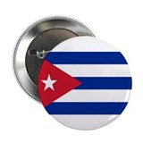 "Cuban Flag 2.25"" Button"