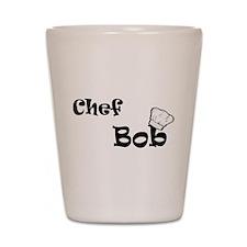 CHEF Bob Shot Glass