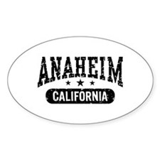 Anaheim California Decal