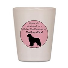 Girls Best Friend Shot Glass