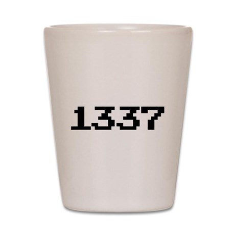 1337 Shot Glass