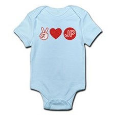 Peace Love Japan Infant Bodysuit