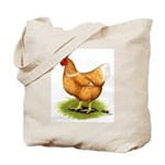 Golden Sex-link Hen Tote Bag