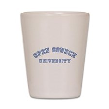 Open Source University Shot Glass