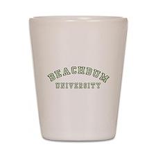 BeachBum University Shot Glass