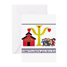 Cute Psychologist Greeting Cards (Pk of 10)