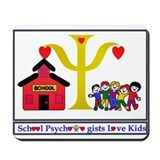 Funny School psychologists Mousepad