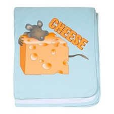 Mouse 'n Cheese baby blanket