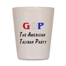 GOP American Taliban Shot Glass