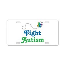 Fight Autism Awareness License Plate