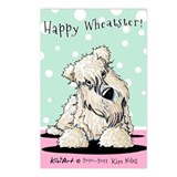 Easter Wheaten Terrier Postcards (Package of 8)
