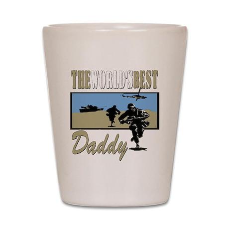Military Daddy Shot Glass