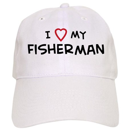 I Love Fisherman Cap
