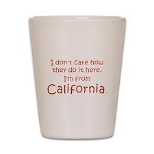 From California Shot Glass