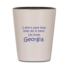From Georgia Shot Glass