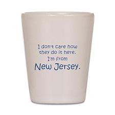 New Jersey Shot Glass