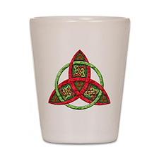 Celtic Holiday Knot Shot Glass