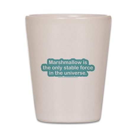 Marshamallow Stable Force Shot Glass