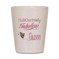 Fabulous Granny Shot Glass