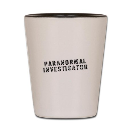 Paranormal Investigator Shot Glass