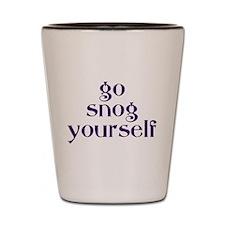 Go Snog Yourself Shot Glass