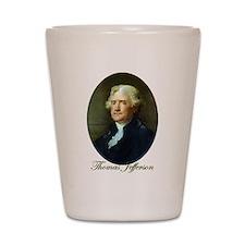 Thomas Jefferson Shot Glass