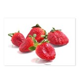 Funny Strawberry Postcards (Package of 8)