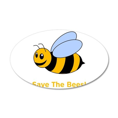 Save The Bess! 22x14 Oval Wall Peel