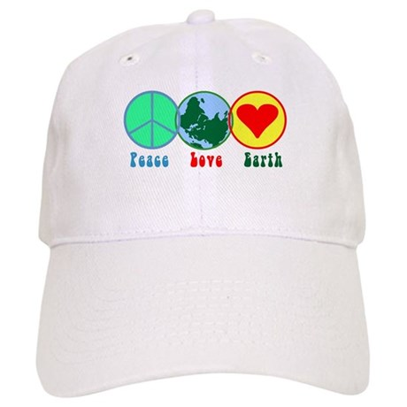 Peace Love Earth Cap