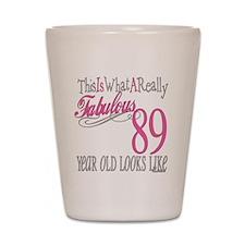 89th Birthday Gifts Shot Glass