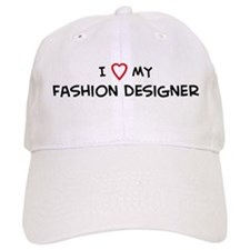 I Love Fashion Designer Baseball Cap