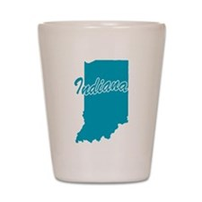 State Indiana Shot Glass