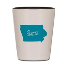 State Iowa Shot Glass