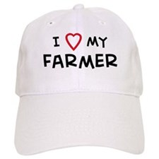I Love Farmer Baseball Cap