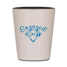 Engaged Shot Glass