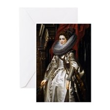 Portrait of Marchesa Brigida Greeting Cards (Pk of
