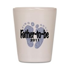 Father to Be 2011 (Boy) Shot Glass