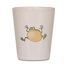 Pot-Belly Frog Shot Glass